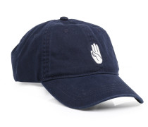 Cap Low Profile mit Logo-Stitching Navy