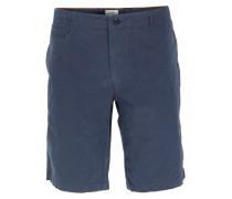 Baumwoll-shorts In Dunkelblau