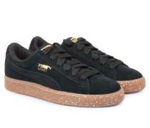 Veloursleder-sneakers Basket X Careaux Black