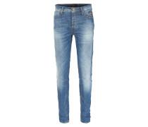 Slim-Leg Jeans Repi N1 Mittelblau