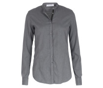 Bluse Flanell Mid Grey