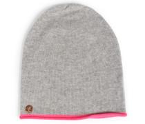 Cashmere-beanie Mütze Grey
