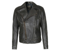 Lederblouson Wild One Vent Antique Black