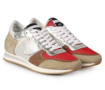Sneakers Tropez Sport Classic Beige Red