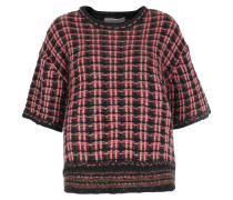 Strickpullover Checked Couture Pink/black