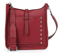 Ledertasche Small Unlined Feed Bag Bordeaux