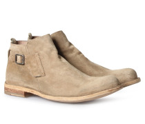 Veloursleder Boots Ideal In Greige