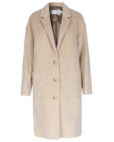 closed damen closed mantel aberdeen mit cashmere damen farbe beige reduziert. Black Bedroom Furniture Sets. Home Design Ideas
