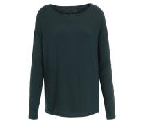 Langarmshirt aus Modal-Stretch Smaragd