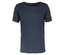 T-shirt Forte Mit Offenen Kanten Indigo