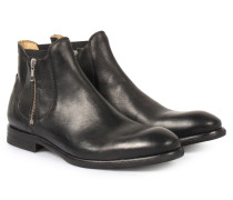 Chelsea Zipper Boot Mitchell Black