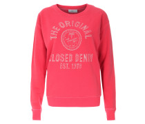 Sweatshirt im Baumwoll-Mix Vegas Red