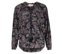 Bluse Mit Floralem Paisley-print Pesetas