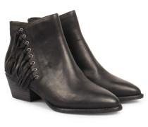 Ankle-boots Mit Fransen Black