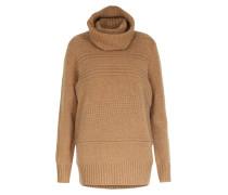 Woll-cashmere-mix Pullover Mit Rollkragen Camel