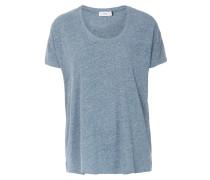 Shirt aus softem Jersey Rauchblau