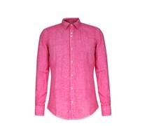 Leinenhemd Garment Dyed Hyacinth