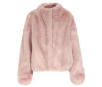 Fake Fur Jacke Rosa