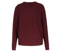 Schurwoll-pullover Seamless Bordeaux