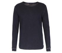 Baumwoll-sweater Jeff Navy