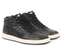 Sneakers Lakers Mid Size Oil Black