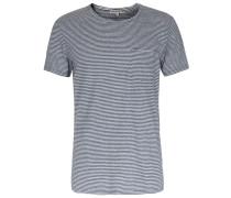 T-shirt Runo Mit Brusttasche Und Streifen