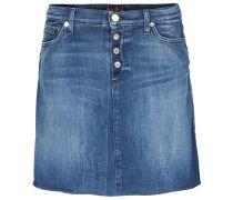 Jeansrock A Line Skirt Mid Blue