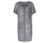 Paillettenkleid in Grau/Silber
