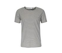 Streifen-shirt Aus Baumwolle Mit Brusttasche