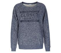 Melierter Sweater Mit -schriftzug