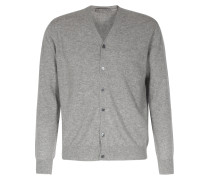 Cashmere-cardigan Drizzle Grey