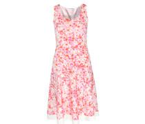 Kleid Aus Viskose-stretch Mit Blumenprint