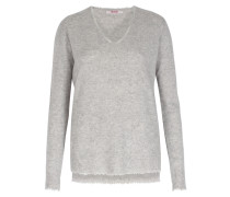 Cashmere-pullover Light Grey