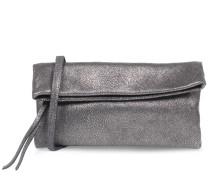 Foldover-clutch Mit Metallic-reptilienprägung Canna Fucile