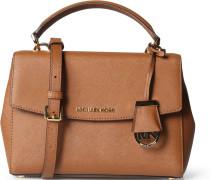 Ledertasche Ava Small Saffiano Leather Satchel Luggage