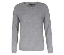 Schurwoll-pullover Ceasar Round-neck Light Grey