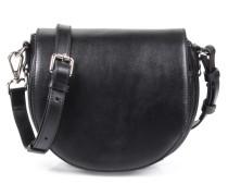 Ledertasche Saddle Bag Black