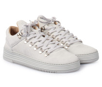 Sneakers Mountain Cut Monotone Stripe Grey