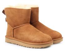Lammfell-boots Mini Bailey Bow Chestnut