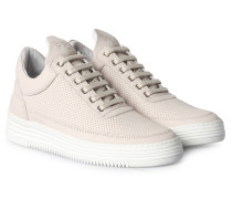 Sneakers Low Top Perforated Tone