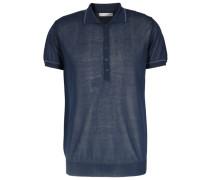 Feinstrick-Polo-Shirt aus Viskose