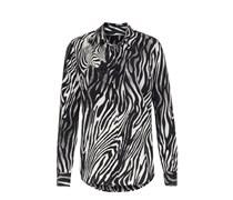 Seidenbluse Mit Zebra Print