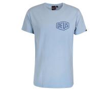 Baumwoll-Shirt Sky Blue