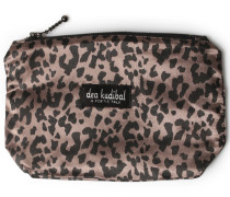 Kosmetiktasche Im Leoparden-look