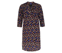 Kleid Aus Seiden-stretch Mit Print