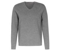 Full Milano V-Ausschnitt Drizzle Grey