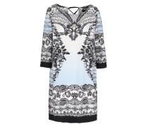 Tunika-Kleid mit Schlitz Detail und Quasten