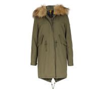 Parka San Marino Mit Fake Fur-besatz Khaki