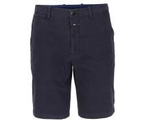 Canvas-shorts Dunkelblau