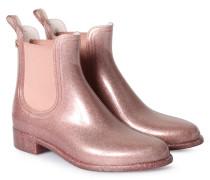 Gummistiefel Comfy Metallic Rosé